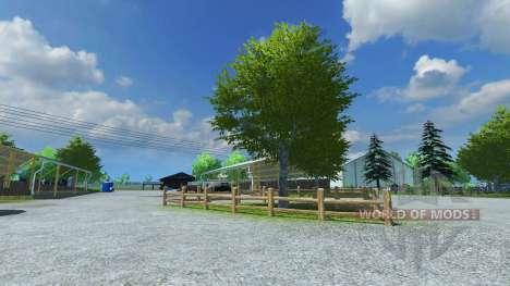 La reconstrucción de la granja v9 para Farming Simulator 2013