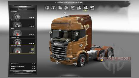 Michelin XPS Rib para Euro Truck Simulator 2