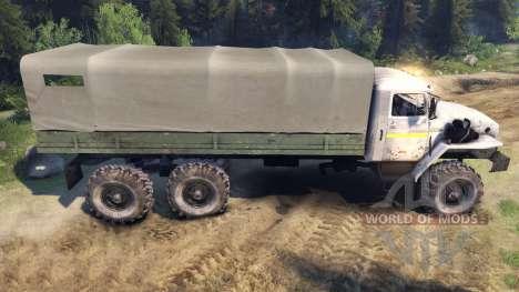 Ural-4320-0911-30 para Spin Tires