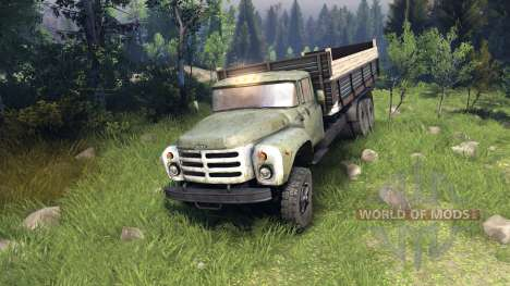 ZIL-133 GA para Spin Tires