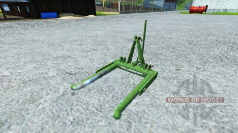 Music-Menges Bale Lifter para Farming Simulator 2013