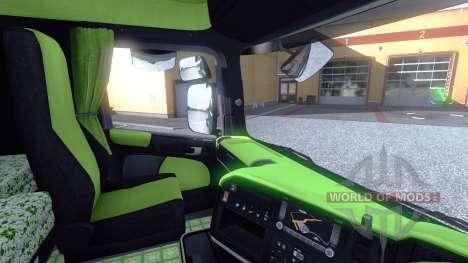 Interior para Scania-Ácido para Euro Truck Simulator 2