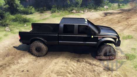 Ford F-350 Super Duty 6.8 2008 para Spin Tires