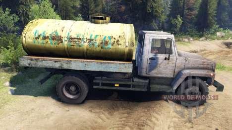 GAZ-3309 v1.1 para Spin Tires