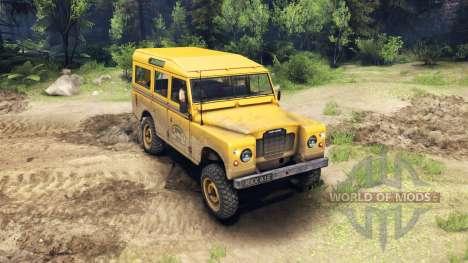 Land Rover Defender Camel Trophy para Spin Tires