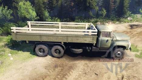 ZIL-133 G1 para Spin Tires