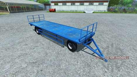 Trailer de paletas LAGARTO para Farming Simulator 2013
