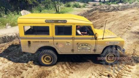 Land Rover Defender Camel Trophy Siberia para Spin Tires