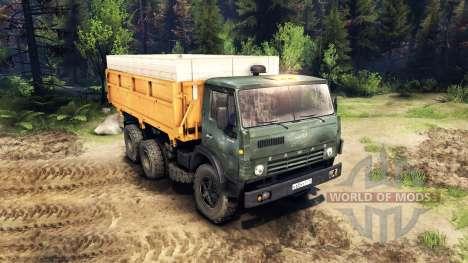 KamAZ-55102 v3.0 para Spin Tires
