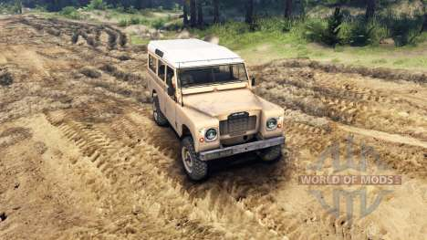 Land Rover Defender Sand para Spin Tires
