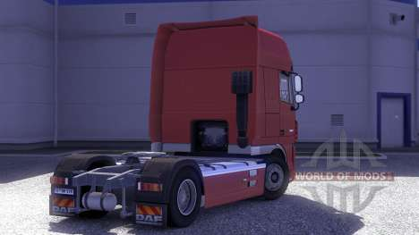 DAF XF 105.510 Jelle Schouwstra para Euro Truck Simulator 2