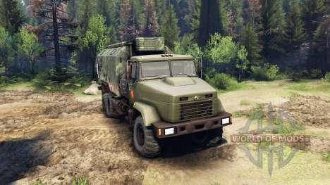 KrAZ-260 y KrAZ-63221 camión (SKVO SIGLOS) para Spin Tires