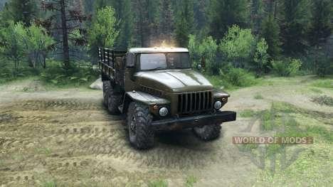 Ural-4320-Junta- para Spin Tires