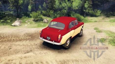 Moskvich-407 para Spin Tires