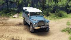 Land Rover Defender Blue