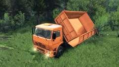 Nueva carrocería para KAMAZ-6520