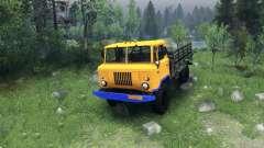 Un nuevo color para el GAZ-66