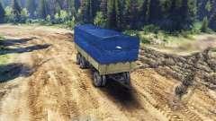 Trailer carpa para ZIL-133 G1 y ZIL-133 GA