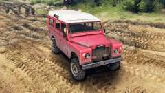 Land Rover Defender Red
