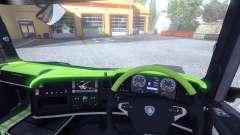 Interior para Scania-Ácido