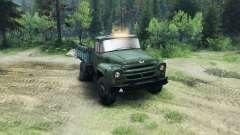 ZIL-130 en un nuevo color