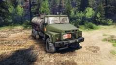 KrAZ-260 y KrAZ-63221 camión (SKVO SIGLOS)