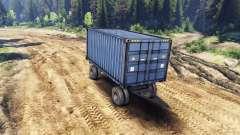 Trailer-contenedor para ZIL-133 G1 y ZIL-133 GA