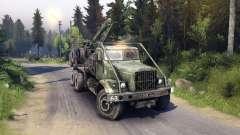 KrAZ-255 de la carretera