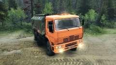 KamAZ-6520 planteadas