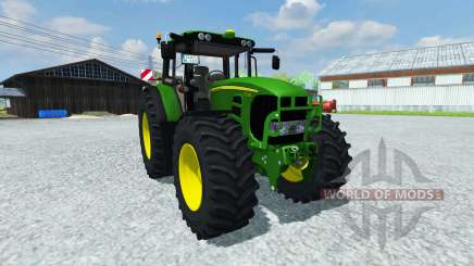 John Deere 753 Premium v2.0 para Farming Simulator 2013
