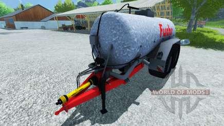 Fox cisterna 18500l para Farming Simulator 2013