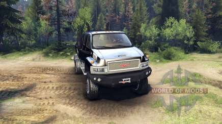 GMC C4500 TopKick 6x6 v1.2 para Spin Tires