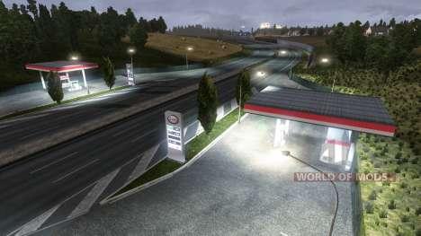 LA ESTACIÓN DE GASOLINA ESSO para Euro Truck Simulator 2