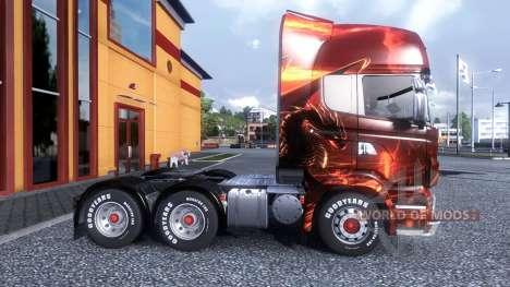 Color-Dragon - camión Scania para Euro Truck Simulator 2
