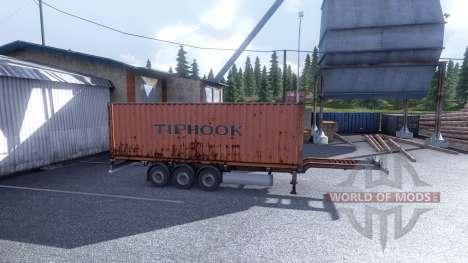 Nuevo color de la carga en contenedores vol.1 para Euro Truck Simulator 2