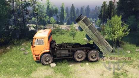 Camión cuerpo para Spin Tires