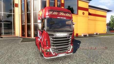 Color-Hermanos Liotti - camión Scania para Euro Truck Simulator 2