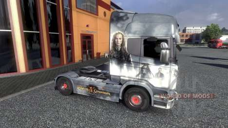 Color-Piratas del Caribe - en el tractor Scania para Euro Truck Simulator 2