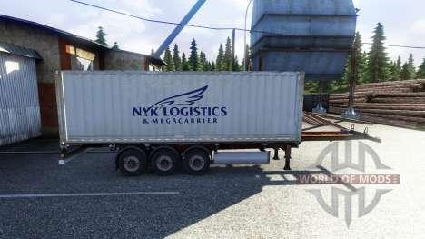 Nuevo color de la carga en contenedores vol.2 para Euro Truck Simulator 2