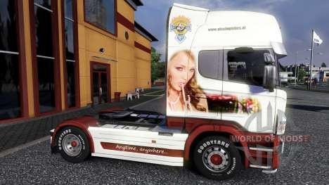 Color-Ellos - en una unidad tractora Scania para Euro Truck Simulator 2
