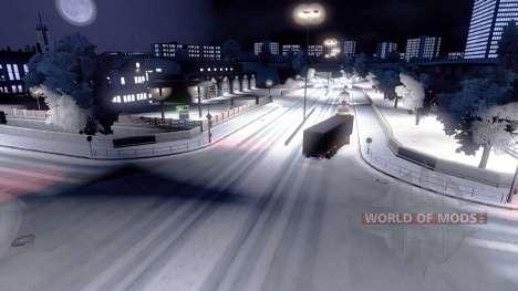 Pleno invierno para Euro Truck Simulator 2