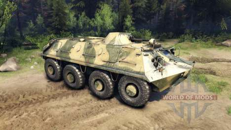 BTR-PB para Spin Tires
