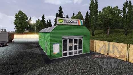 GASOLINERA BP para Euro Truck Simulator 2