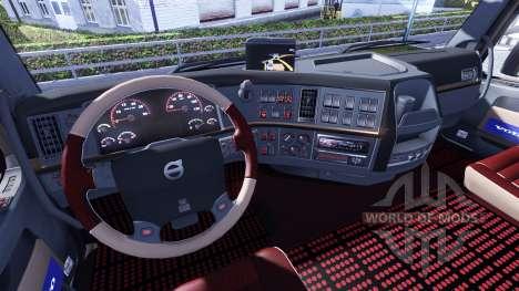 Nuevo interior para Volvo tagaca para Euro Truck Simulator 2