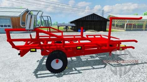 La pick-up Arcusin paca RB Autostack para Farming Simulator 2013