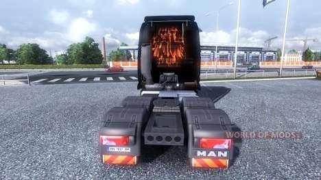 Color-Rammstein - en camión HOMBRE para Euro Truck Simulator 2