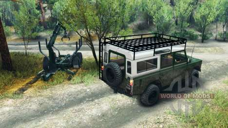 Land Rover Defender Series III v2.2 Green para Spin Tires