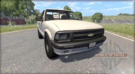 Chevrolet S-10 Draggin 1996 para BeamNG Drive