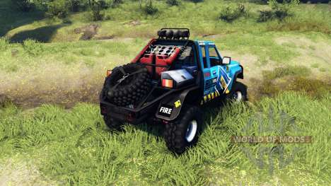 Nissan Patrol GQ para Spin Tires