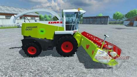 CLAAS Jaguar 900 Speedstar para Farming Simulator 2013